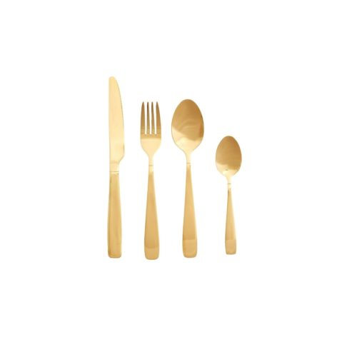 Aukso spalvos įrankių komplektas | Hubsch