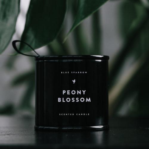 Maža Peony blossom žvakė | Blue Sparrow
