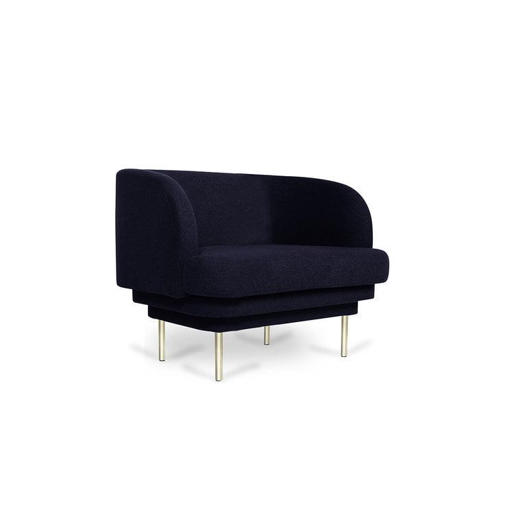 Velvetinis CORNICE krėslas | ENO Studio
