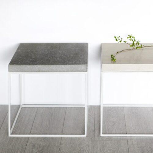 Pilkas staliukas W-concrete | IDDO