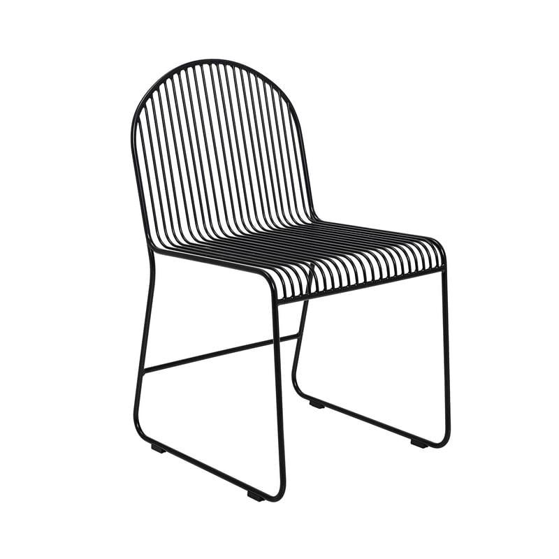 Friend juoda valgomojo kėdė | Bloomingville