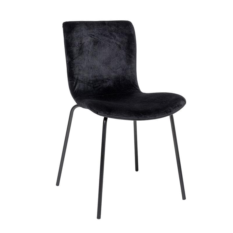 Bloom juoda valgomojo kėdė   Bloomingville