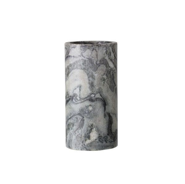 Marmurinė pilka vaza | Bloomingville