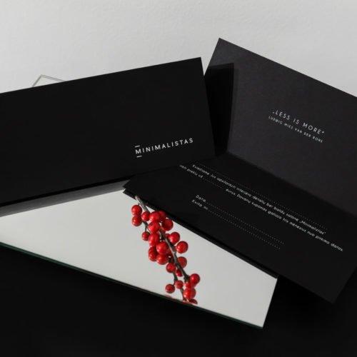 50 eur vertės dovanų kuponas | Minimalistas