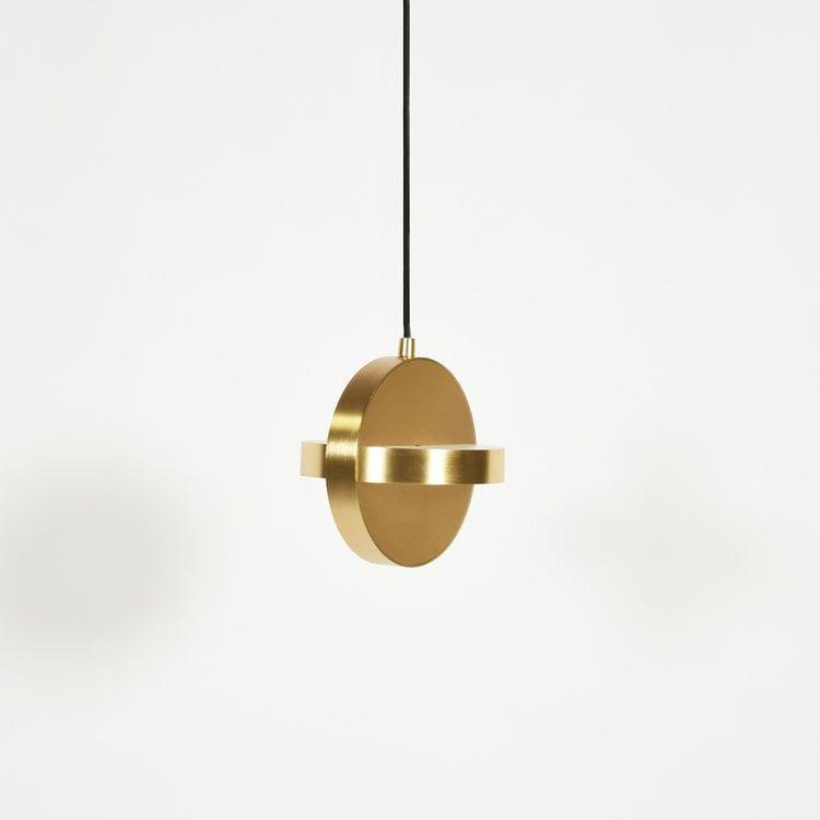 Žalvario spalvos PLUS pakabinamas šviestuvas | ENO Studio