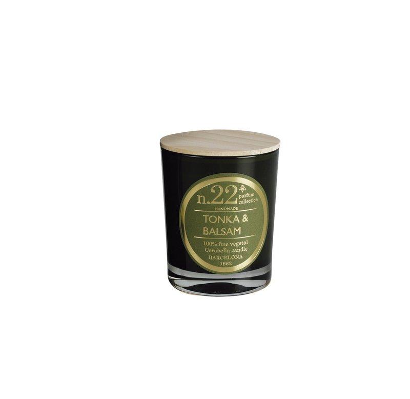 "Rankų darbo kvapni žvakė ""Tonka & Balsam"" | Cerabella"