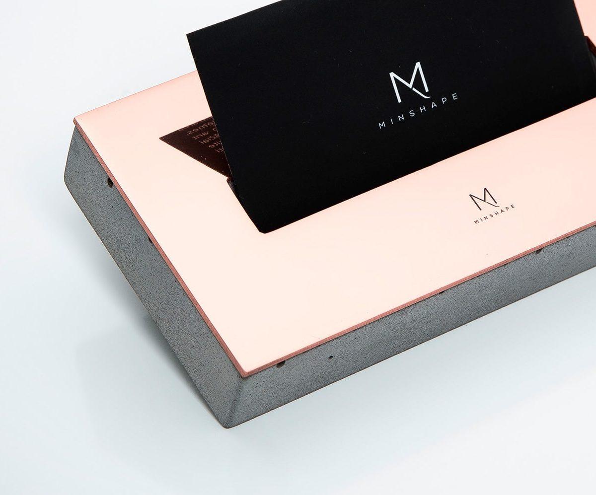 Vizitinių kortelių dėklas MCH1.1 | Minshape